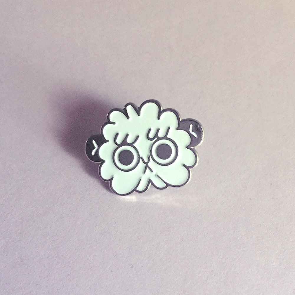 Image of Cloud Chimp pin