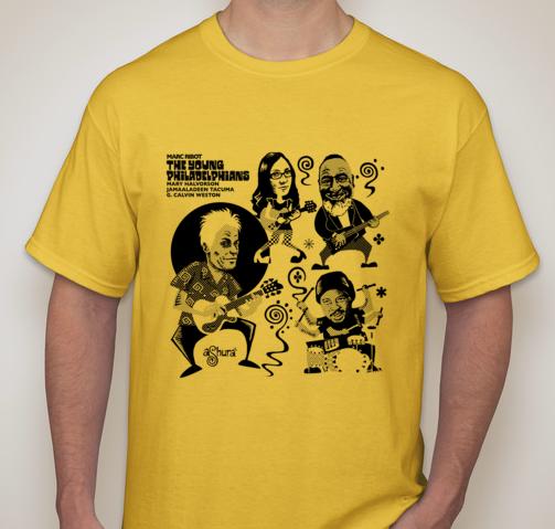 The Young Philadelphians - T Shirt MENS YELLOW