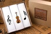 Image of Men's Handkerchiefs Music