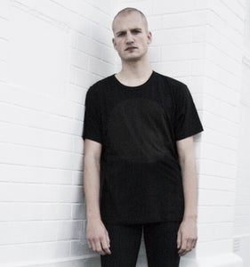 Image of NEW COLLECTION: GREY LABEL TENCEL LUNAR T-SHIRT IN FULL ECLIPSE BLACK ON BLACK
