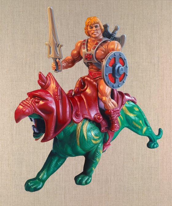 Image of He-Man & Battlecat // LIMITED EDITION PRINT