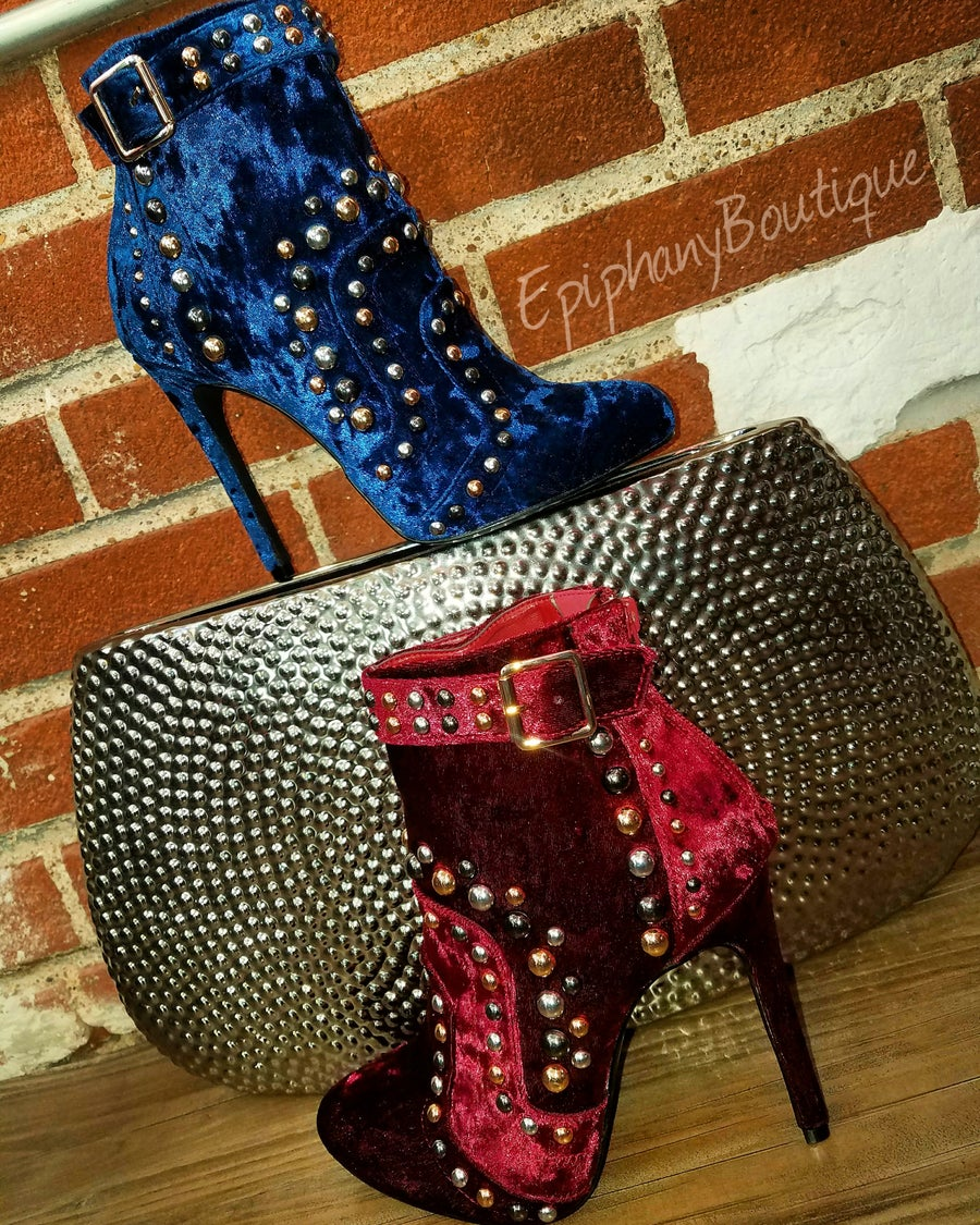Image of The Zoe Embellished Bootie