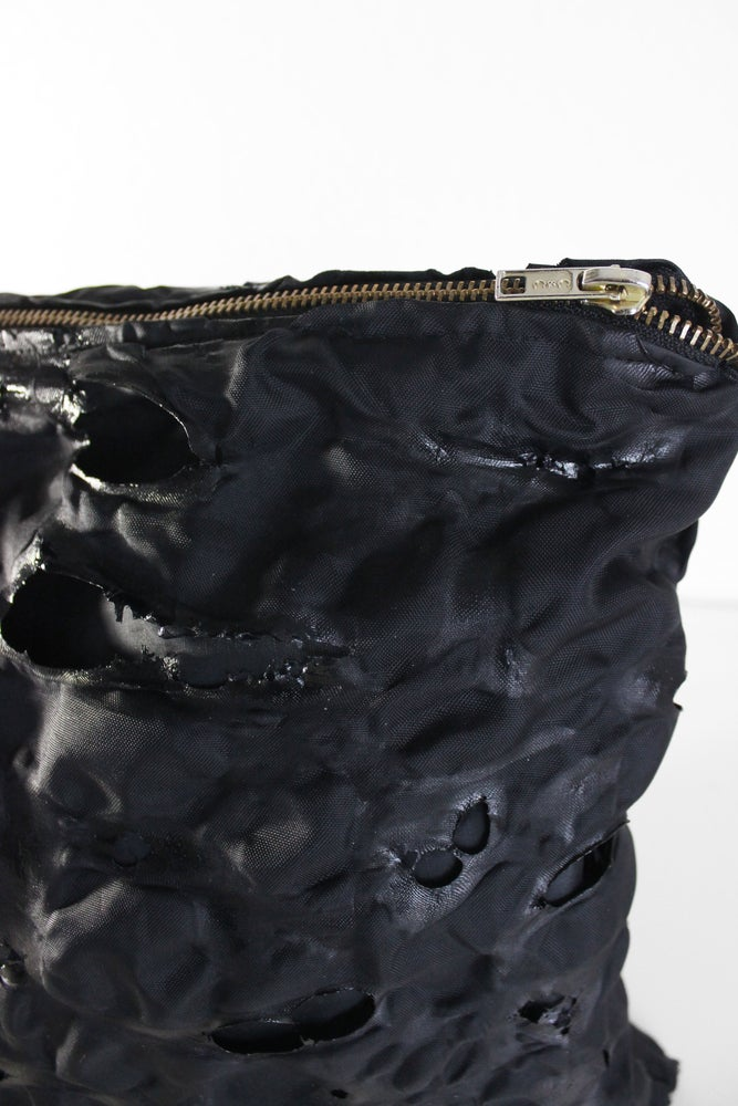 Image of BURNT TEXTURED CLUTCH