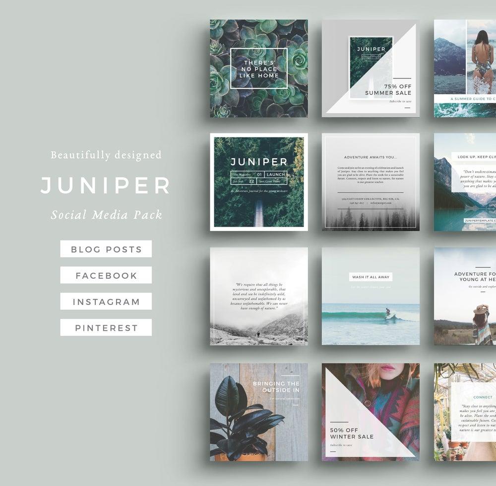 Image of J U N I P E R Social Media Pack