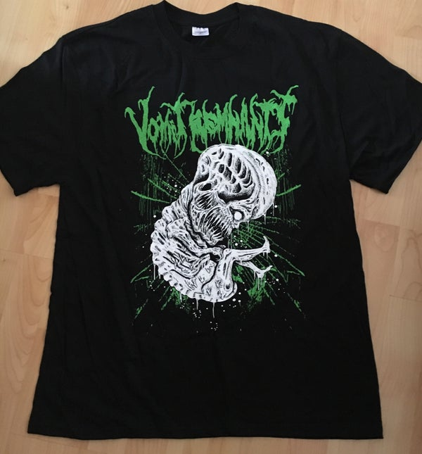 Image of VOMIT REMNANTS  - Embryo T-Shirt