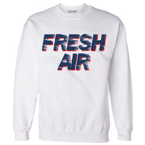 "Image of LIKE MIKE ""FRESH AIR"" True Blue Sweater"