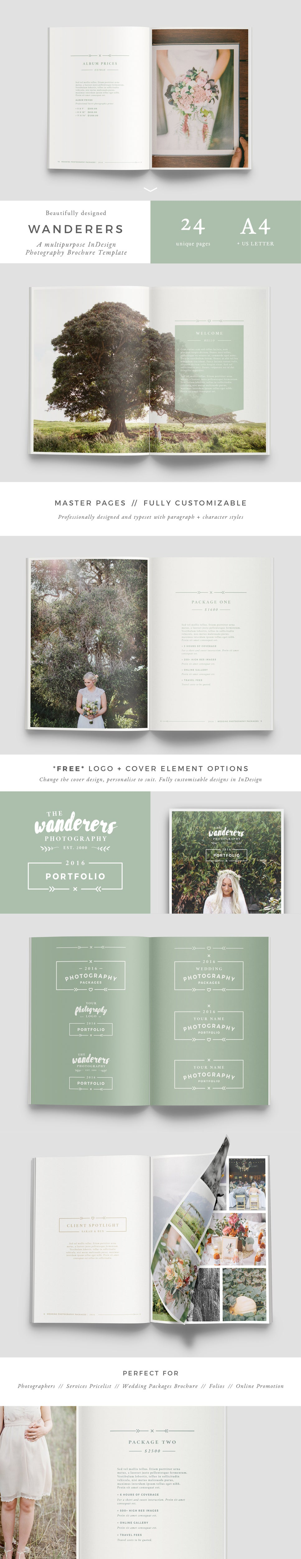Image of WANDERERS Photography Brochure