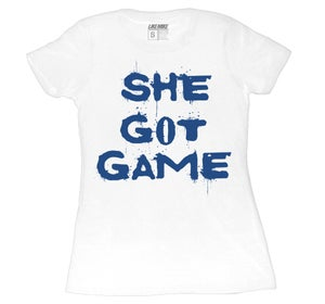 "Image of LIKE MIKE ""SHE GOT GAME"" True Blue"