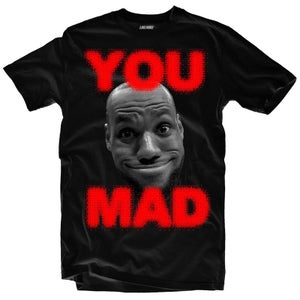 """Image of LIKE MIKE """"YOU MAD"""" Blk/Red"""