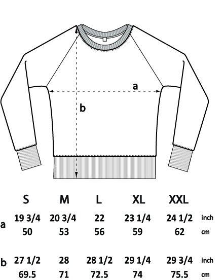 Image of GREY LABEL LUNAR RAGLAN SWEATSHIRT
