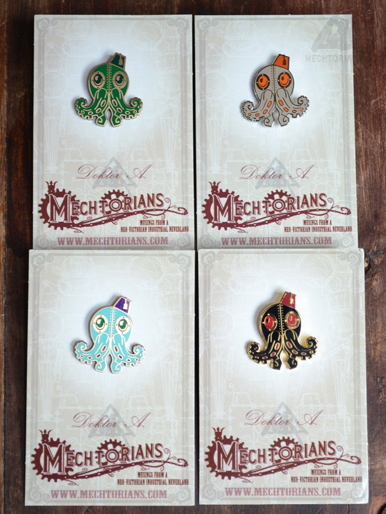 Image of Mechtorian Enamelled Pin Badges