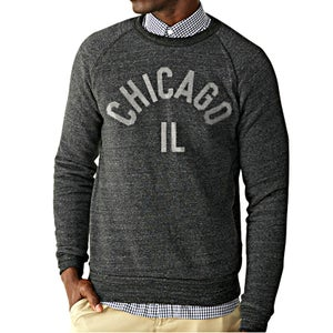 Image of Premium Chicago Unisex Fleece Crewneck
