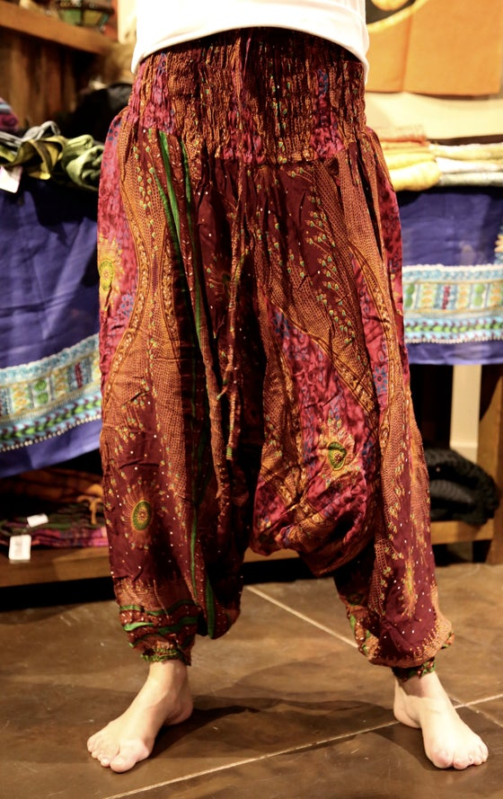 Image of Flowy Harem Pants 4