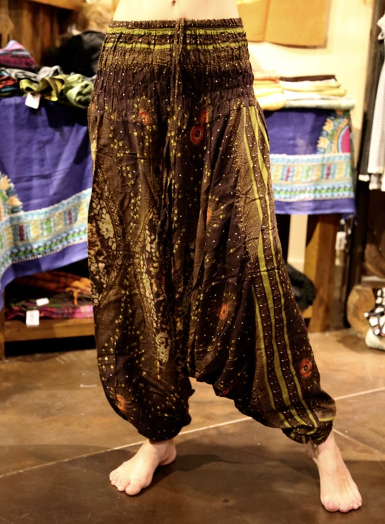 Image of Flowy Harem Pants 6