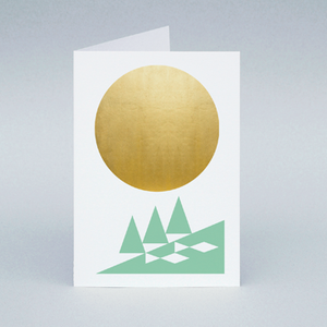 Image of Winter Sun River card