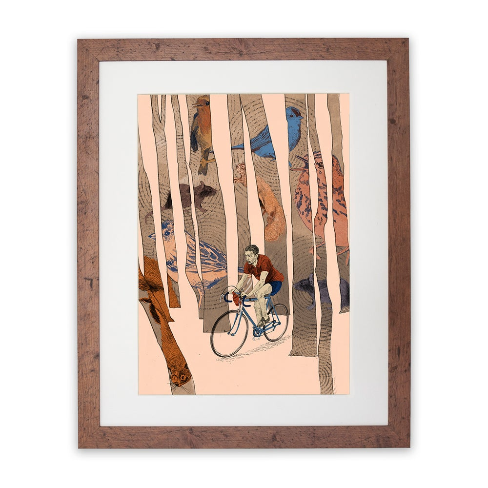Image of 'Symphony on Two wheels' digital print by Isabel Albertos