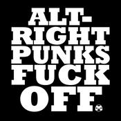 Image of ALT-RIGHT PUNKS FUCK OFF shirt