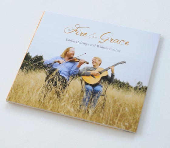Image of Edwin Huizinga & William Coulter - Fire & Grace CD