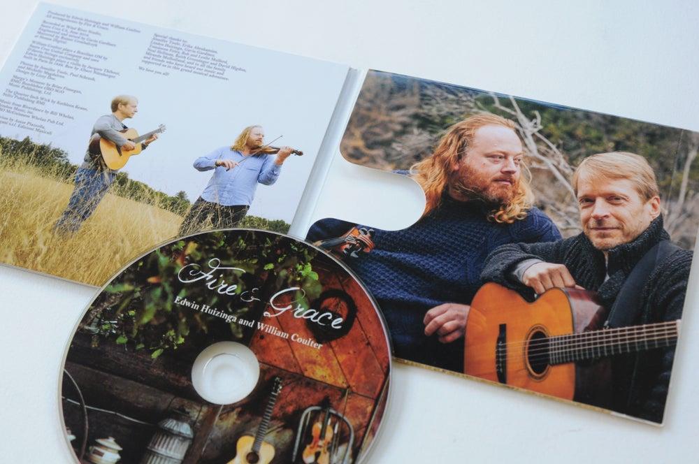 Image of Edwin Huizinga & William Coulter - Fire & Grace CD