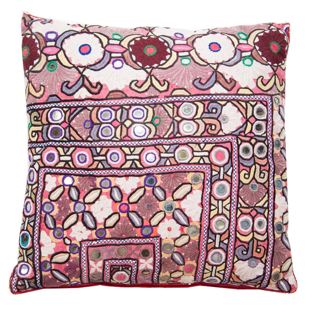 Image of Indian Mirrored Pillow 2