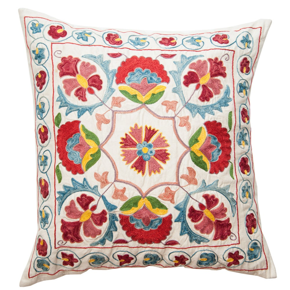 Image of Indian Embroidered Pillow