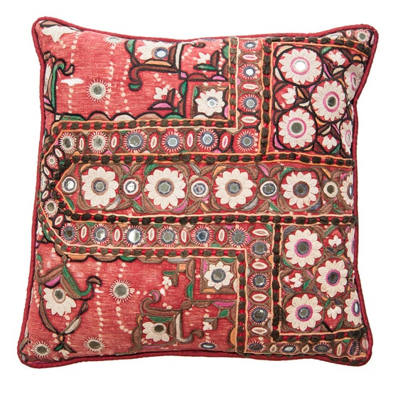 Image of Indian Mirrored Pillow 3