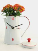 Image of Coffee kettle clock