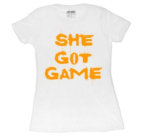 "Image of LIKE MIKE ""SHE GOT GAME"" Orange"