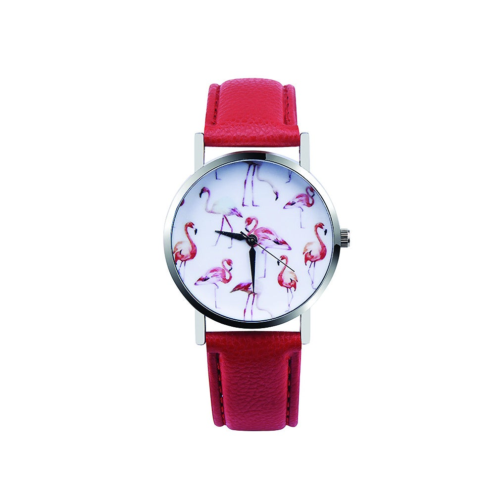 Montre Flamant rose