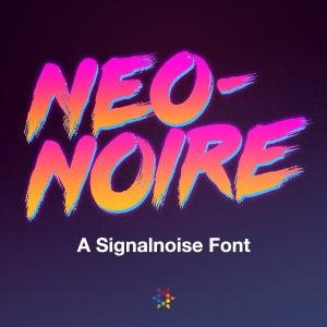 Image of Neo-Noire Font