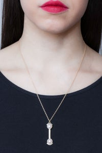 Image of HERA NECKLACE- SILVER