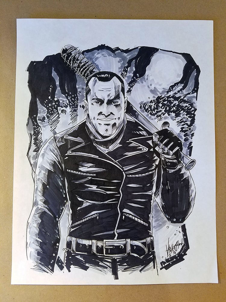 Image of Negan - Inspired by The Walking Dead comics