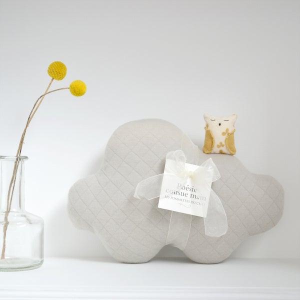 Image of Petite chouette nuage gris