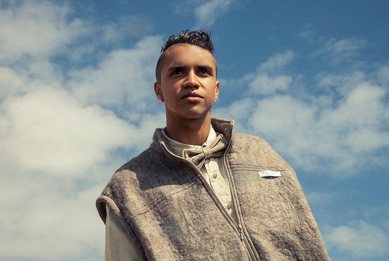 Image of Men's Organic Hand-crafted Alpaca Jacket
