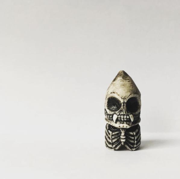Image of Skeleton Crayon Pencil Topper