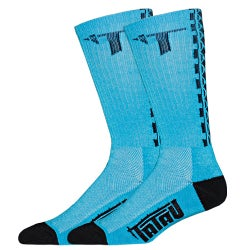 Image of TS-01 Ocean Blue/Black Socks