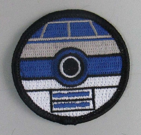 "Image of R2D2 Pokeball Style 2"" Patrol Patch"