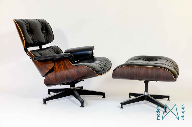 Image of Eames Rosewood Lounge Chair