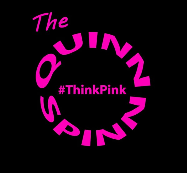 Image of The Quinn Spinn #ThinkPink T-shirt