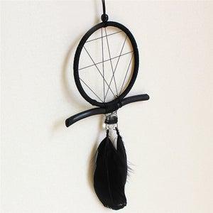 Image of Black Crystal Dreamcatcher