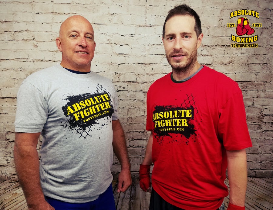 Image of Absolute Fighter T-shirt (Gray or Red)