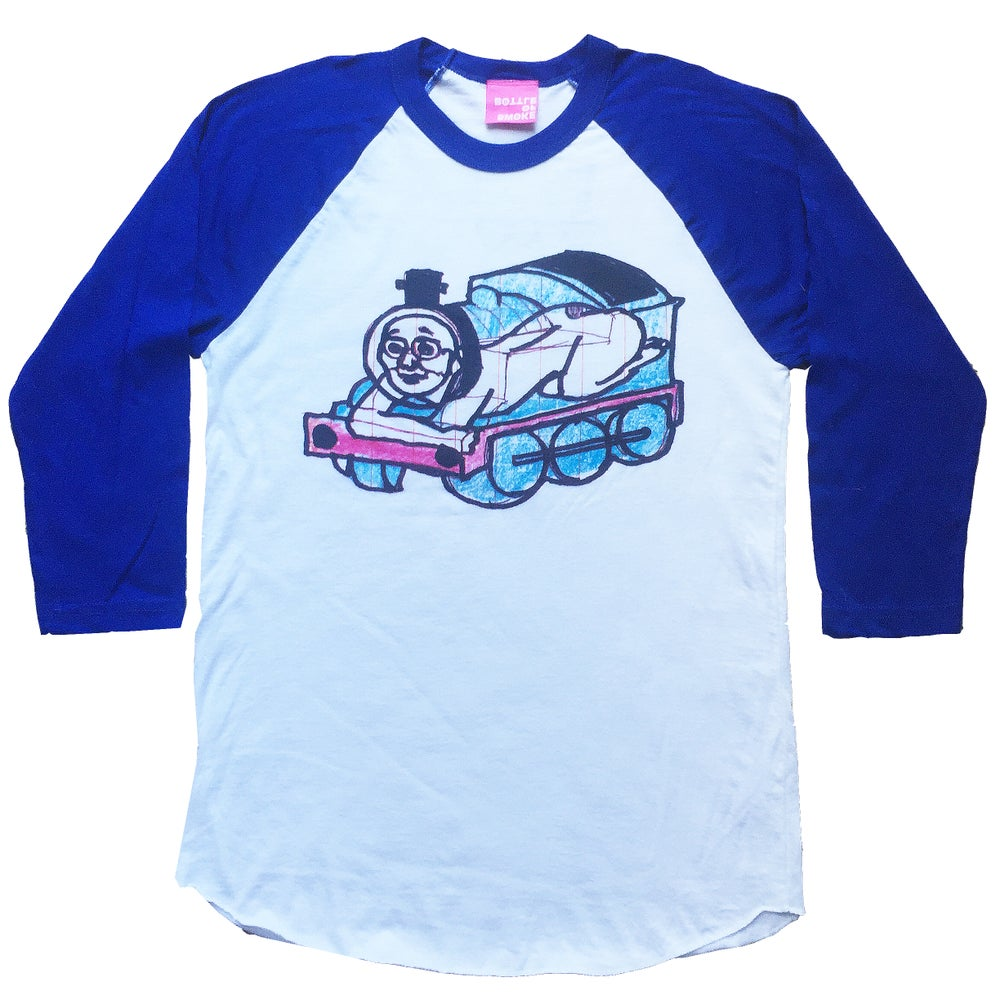 Image of CHOO CHOO baseball t-shirt