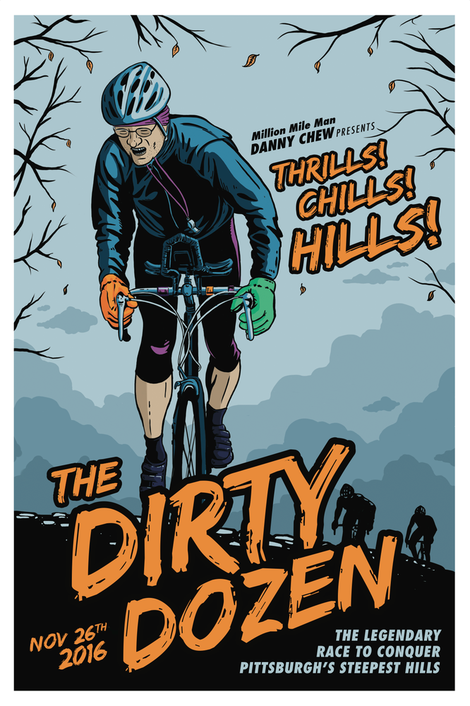 Image of Dirty Dozen 2016 Poster