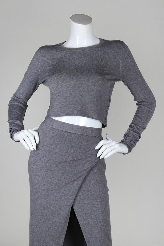 Image of Grey 2- Piece