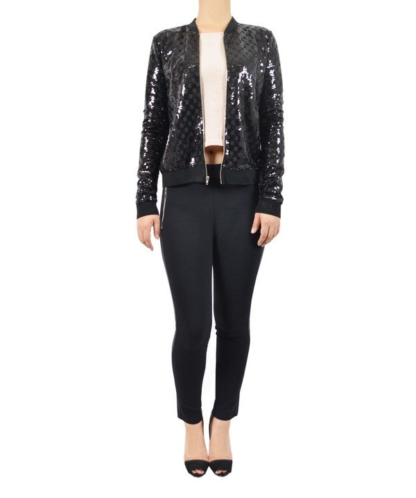 Image of Sequin Jacket Lush