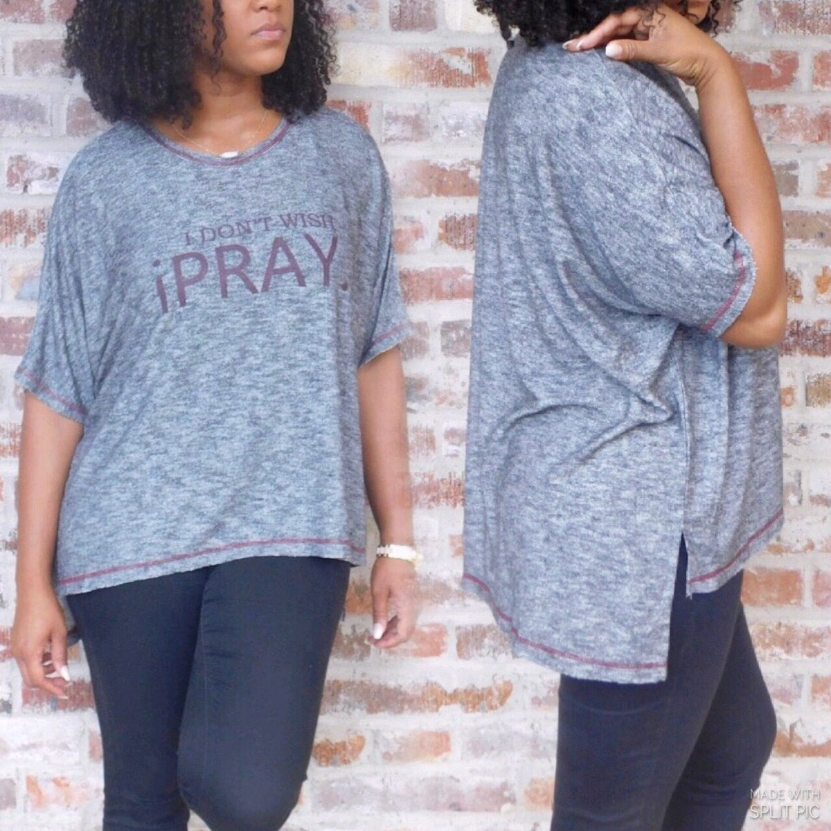 Image of I Don't Wish iPray Knit Top