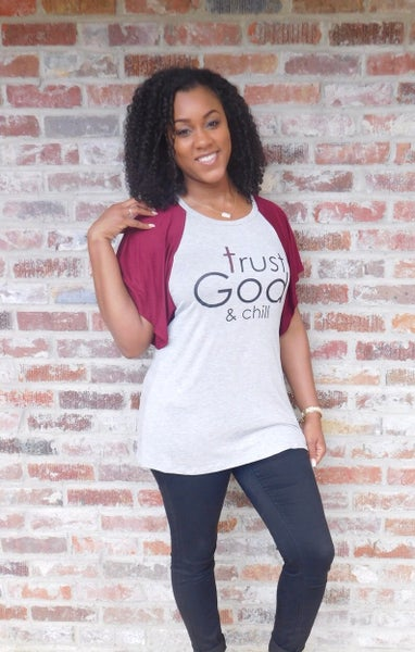 Image of Trust God and Chill Top