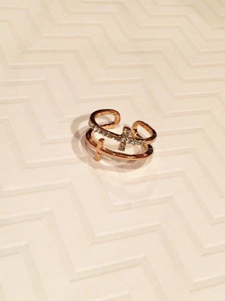 Image of Double Cross Ring