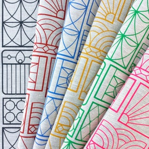 Image of Gates Tea Towel {assorted colours}