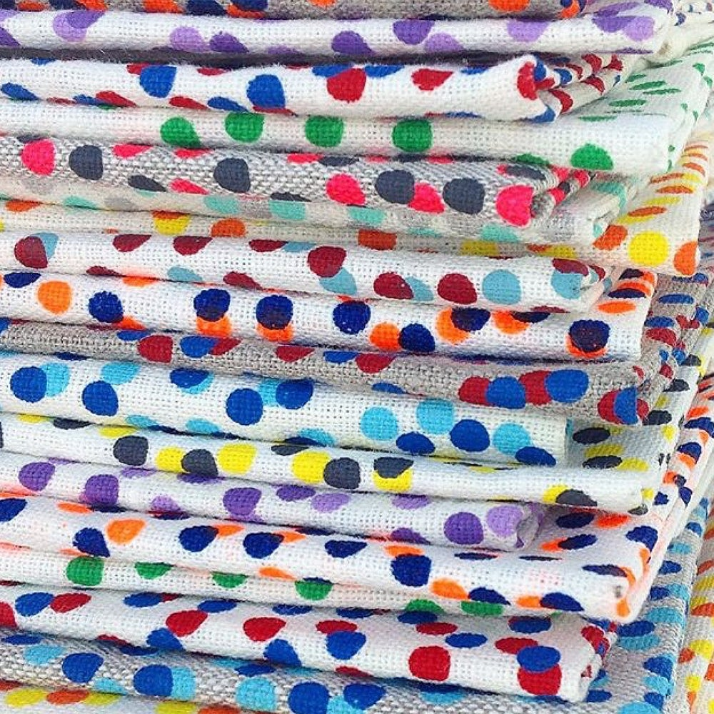 Image of Freckle Tea Towel {assorted colours}